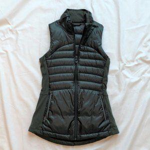 lululemon green fullzip vest